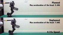 Un Algorithme qui permet aux robots de tomber avec classe...