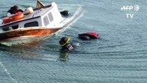 Grèce: 7 morts après le naufrage d'un bateau de migrants