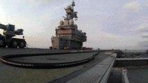 Tir Aster 15 depuis le porte-avions Charles de Gaulle