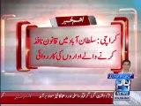 Karachi  Intelligence bureau operation in Sultanabad; 7 Target Killers arrested