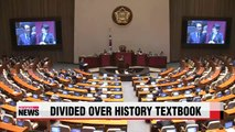 Row over government-issued history textbook intensifies