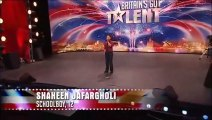 Shaheen Jafargholi, scena epica a Britain's Got Talent