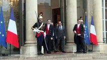 Les Prix Nobel de la paix tunisiens rencontrent François Hollande