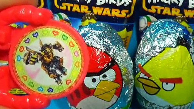 ANGRY BIRDS  surprise eggs Angry Birds STAR WARS surprise Luke Skywalker ANGRY BIRDS! [Full Episode]