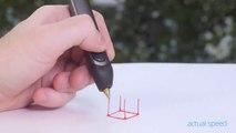Un Stylo 3D qui peut dessiner dans les Airs... Enorme!!!