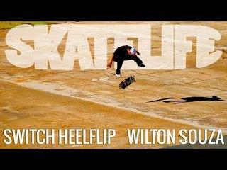 Switch Heelflip | Tutorial #SKATELIFE | Wilton Souza