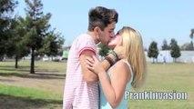 Kissing Prank (GONE SEXUAL) - How to Kiss ANY Stranger - Kissing Strangers - Funny Pranks