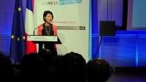 Conférence pour l'emploi dans le spectacle, discours de clôture de Fleur Pellerin