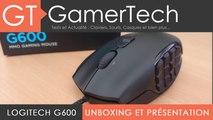 TEST Logitech G600 - Souris MMO et MMORPG