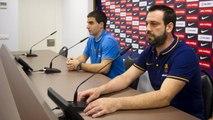 FCB Lassa (hockey): Ricard Muñoz i Marc Gual valoren el partit de tornada de la Copa Continental