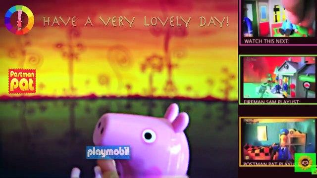 New Peppa Pig English Episode with Toys. 2015 ❤️ Fireman Sam, Postman Pat