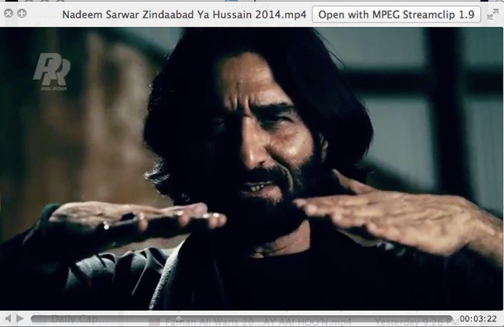 Nadeem Sarwar Zindaabad Ya Hussain