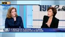 """Nathalie Kosciusko-Morizet demande si Le Drian """"va être un ministre de la Défense à mi-temps?"""""""