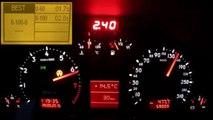 Audi RS4 Biturbo Acceleration 0-310 & Brutal Sound