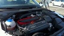 Audi TTRS Plus Launch Control Acceleration 0-100 & Exhaust Sound