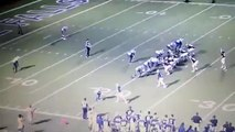 High School Football Players Tackle Referee Because of a Bad Call