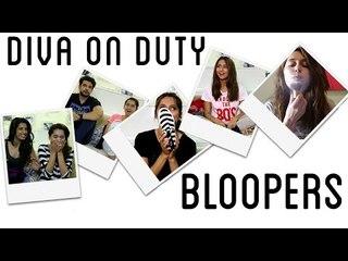 Diva On Duty Bloopers | Anusha Dandekar