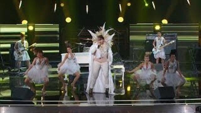 Americas Got Talent 2015 S10E13 Judge Cuts - Kayvon Zand Obnoxious No Talent