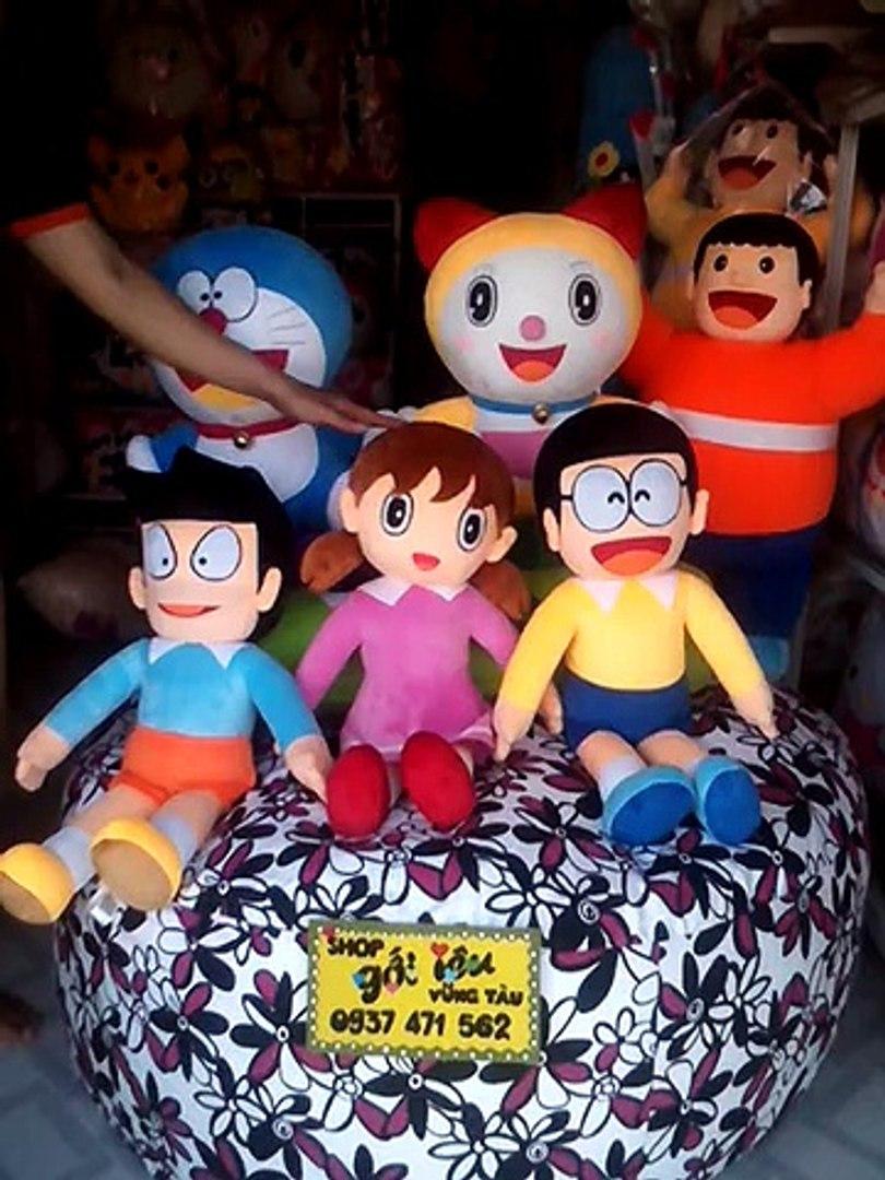 Nobita bông - shizuka xuka bông - suneo xeko bông - Jaian chaien bông - doremi bông