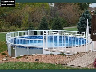 pool fence ideas for above ground fence collection and designs