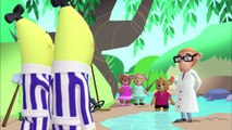 The Bananas search for Gold! | Bananas in Pyjamas