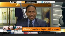 ESPN First Take (10 16 2015) - Opposing View  Panthers at Seahawks