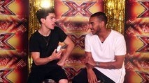 The X Factor Backstage with TalkTalk TV | Ep21 | How good is Josh Daniel at accents?