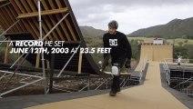 Il réalise le plus haut saut du monde en skateboard ( Danny Way and the Highest air ever ) !