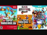 Super Smash Bros. Mashup music Main Theme(New Super Mario Bros. Wii)(Snow Track)