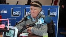 Eugène Riguidel au Havre pour la Transat Jacques Vabre 2015