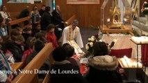 2015-10-17-Sainte Therese et les enfants a Notre Dame de Lourdes