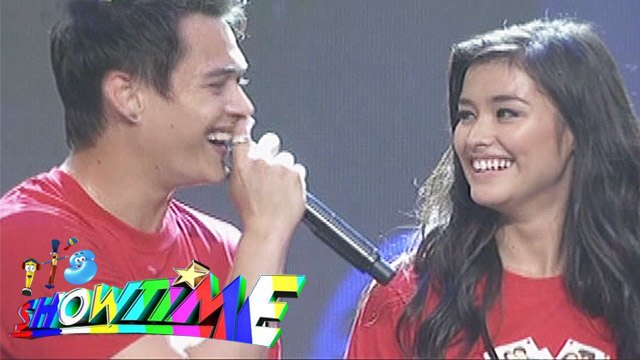 "It's Showtime: Enrique says ""I Love You"" to Liza"