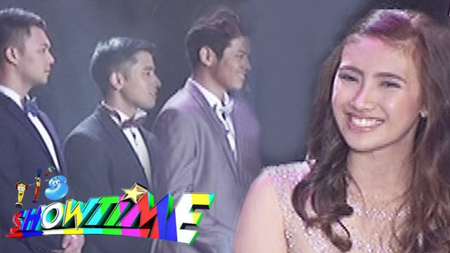 It's Showtime: Ms. Pastillas gives her final message to her 3 suitors