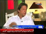 Woh wazeer banhne ke liye jooth bol raha hai , me Nawaz Sharif se request karta hu use jaldi Minister banade :- Imran Kh