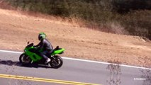 Motorcycle Crash - Yamaha R1 Lowside crash on Mulholland Hwy near Malibu-WNrp1Jzs7pg