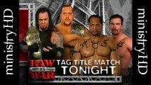 The Unholy Alliance Era Vol. 9   The Undertaker & Big Show vs Farrooq & Bradshaw Tag Titles Match 8/23/99