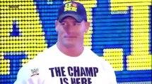 Champion Vs Champion - John Cena (WWE Champ) Vs Alberto Del Rio (WH Champ) Raw 01/07/2013
