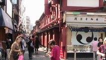 Nakamise Street beside Asakusa Kannon Temple, Tokyo - Japan