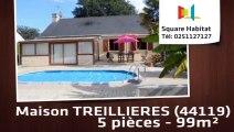 A vendre - Maison/villa - TREILLIERES (44119) - 5 pièces - 99m²
