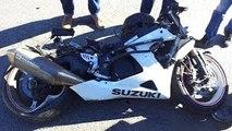 GoPro: Suzuki GSXR 1000 - Motorcycle Accident / GSX-R1000 Motorcycle Crash