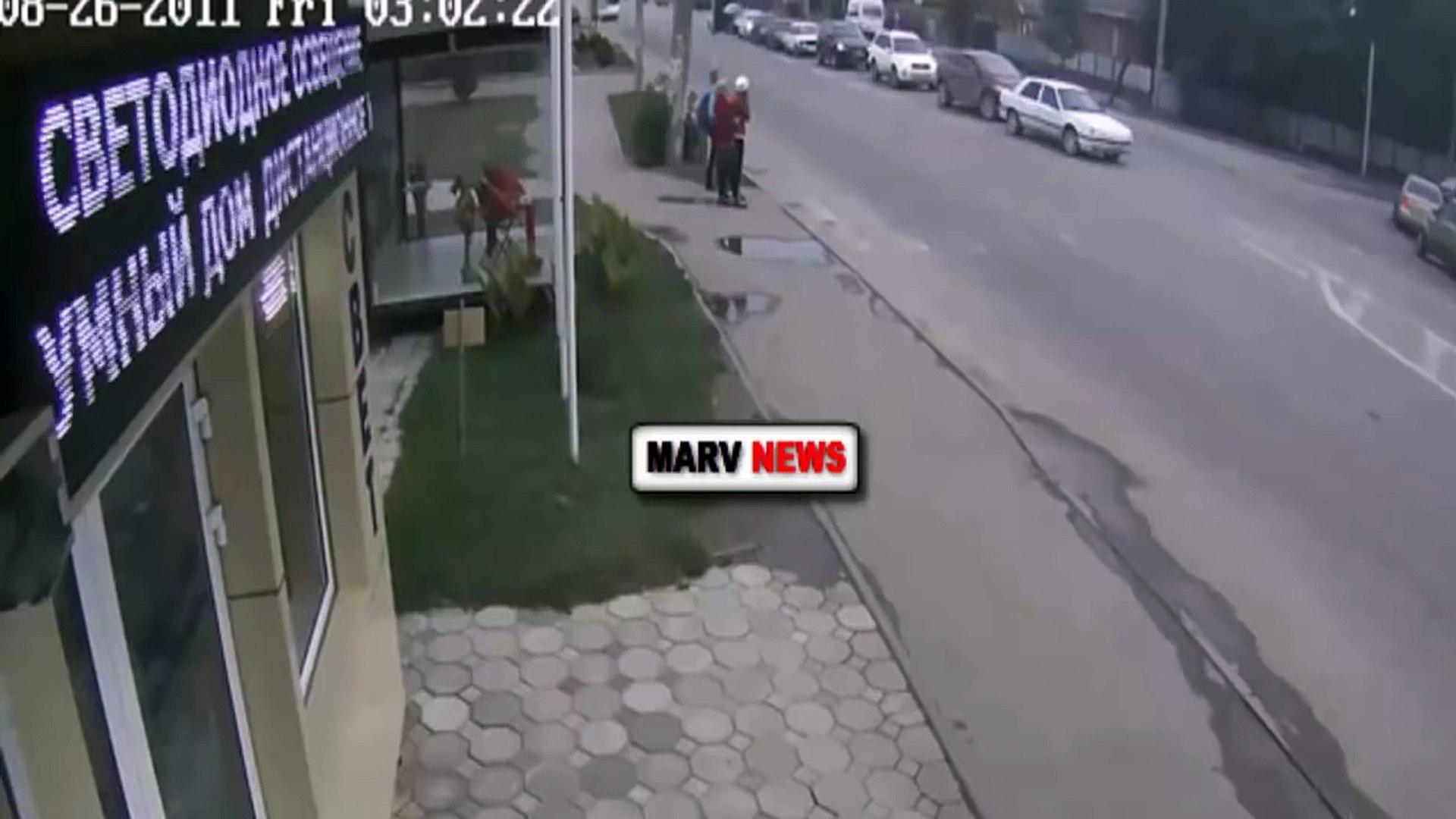 Авария с пешеходами в Краснодаре 13 10 2015