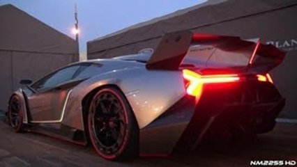 Lamborghini Veneno Sound Start Up And Revs Quick Play Videos
