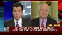 Hillary Clinton, Tom Cotton, John McCain & Carly Fiorina Suggest No-Fly Zones Against Russia and Syria