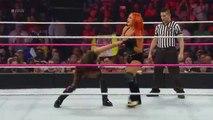Charlotte _ Becky Lynch vs. Brie Bella _ Alicia Fox_ Raw, October 12, 2015 WWE Wrestling On Fantastic Videos
