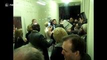 Cate Blanchett greets fans in London