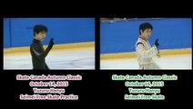 Yuzuru Hanyu - Skate Canada Autumn Classic, Seimei Comparison
