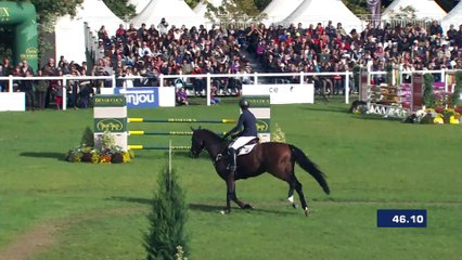 Merel BLOM (NED) clear round finished 2d of Mondial du Lion 6YO
