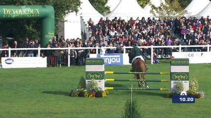 Sophie Richards and SRS Adventure are 3rd of Mondial du Lion 6YO