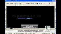 Lesson No. 1- Auto Cad Traning in urdu (Architecture, Mechanical, Civil and Elec (1)