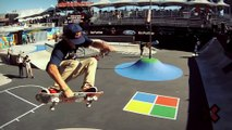 GoPro HD Ryan Sheckler Skate Street Course Preview - Summer X Games 2012